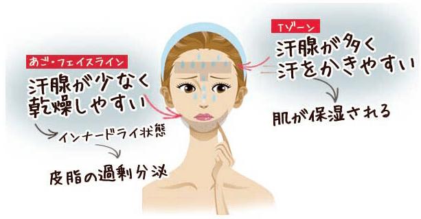 顎ニキビはいくつかの原因が複雑に絡まり合って発生する